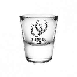 BarConic® 1 ounce Thick Base Clear Shot Glass