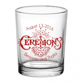 3oz Custom Votive / Shot Glass Clear