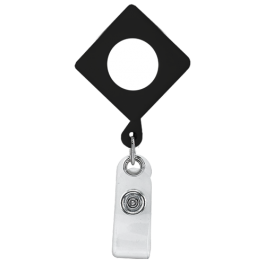 Diamond Plastic Badge Reel