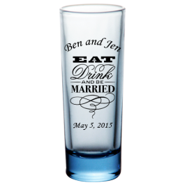 Custom 2oz BarConic® Tall Shot Glasses
