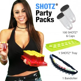 SHOTZ® Bullet Shot Cups Party Pack