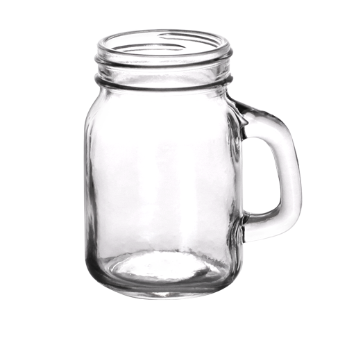 4 5 Oz Mini Mason Jars With Handle