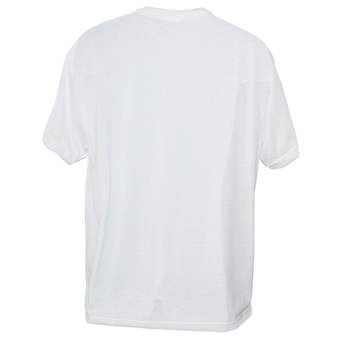mens kolorcoat� lightweight white tshirt front and back