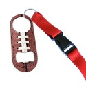 Red Lanyard w/ Buckle Clip