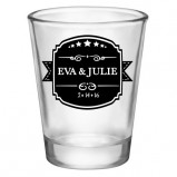 1.75oz Clear Custom Shot Glass
