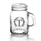 Custom 4.5 oz. Mini Mason Jars with Handle