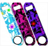 ADD YOUR NAME SPEED Bottle Opener – Abstract Flowers