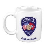 Custom Coffee Mug- White