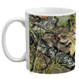 Realistic Tree Camo Custom Coffee Mug - 11 ounce