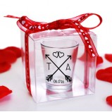 Clear Shot Glass Gift Boxes - 50 Pack