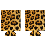 Animal Print Kolorcoat™ Can Coolers (2 Pack)