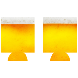 Beer Themed Kolorcoat™ Can Coolers (2 Pack)