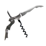 Double Lever Corkscrew Stainless Steel