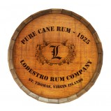 Add Your Name Cane Rum Barrel Top Tavern Sign