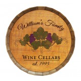 Add Your Name Custom Wine Cellar Barrel