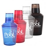 18 oz. 3 Piece Plastic Cocktail Shakers