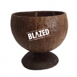 Custom Real Coconut Cups with Base - Lacquered
