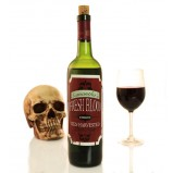 Add Your Name Halloween Themed Wine Label - Fresh Blood