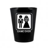 Game Over Wedding Shot Glass