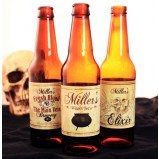Halloween Themed 6 Pack - Add Your Name Beer Labels