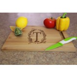 Engraved Bamboo Cutting Board - Large