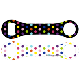 Kolorcoat™ Dog Bone Opener - Polka Dots