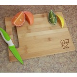 Engraved Bamboo Cutting Board - Medium