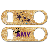 "Custom Glitter Backgrounds 5"" Medium Speed Opener"