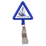 Triangle Plastic Badge Reel