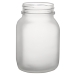 20oz BarConic® Frosted Mason Jar Mug with No Handle