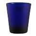 Custom 1.5oz BarConic® Dark Blue Frosted Shot Glass