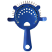 Candy Blue Cocktail Strainer - 4 Prong
