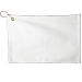 15'' x 25'' White Bar Towel With Hook