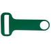 Green Screen Printed Colored Stainless Steel Hammerhead™ Opener