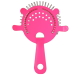 4 Prong Neon Pink Cocktail Strainer