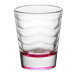 1.5oz Custom Pink Wave Shot Glass
