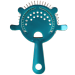 Candy Teal Cocktail Strainer - 4 Prong