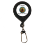 Stopper Plastic Badge Reel with Fishing Hook Attachment