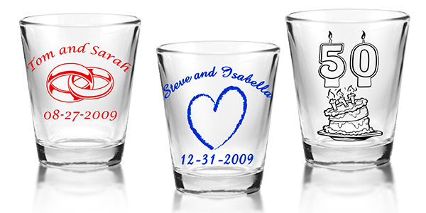 1 75oz Clear Barconic Shot Glass